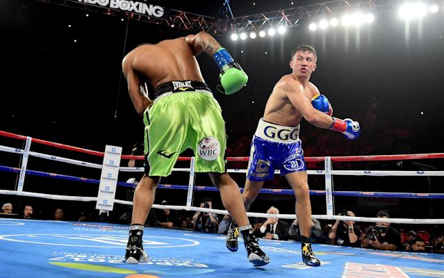 <span>Gennady Golovkin has won 33 of his 36 fights by knockout</span> <span>Credit: Getty Images </span>