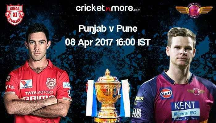 IPL 2017, Preview: Pune vs Punjab