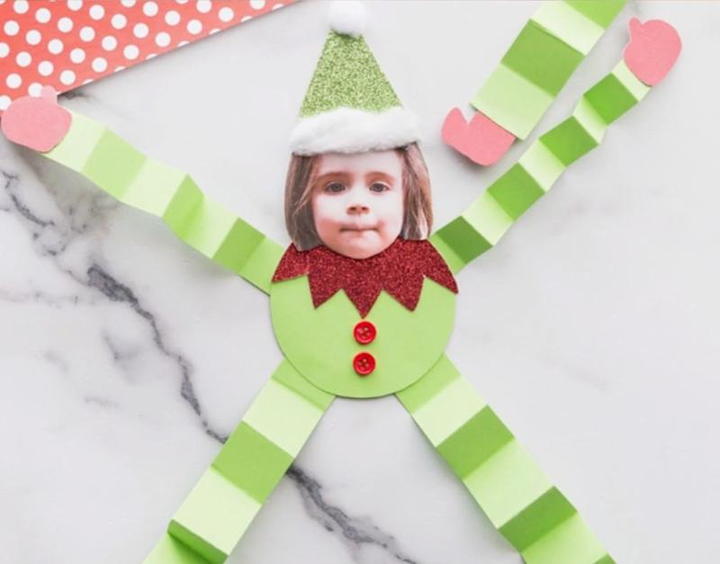 "Or the kid's face. Or anyone's face, really. You can transform anybody into an elf with this one.&nbsp;Learn how to make it at <a href=""https://www.thebestideasforkids.com/paper-elf-craft/"" target=""_blank"" rel=""noopener noreferrer"">The Best Ideas for Kids</a>."