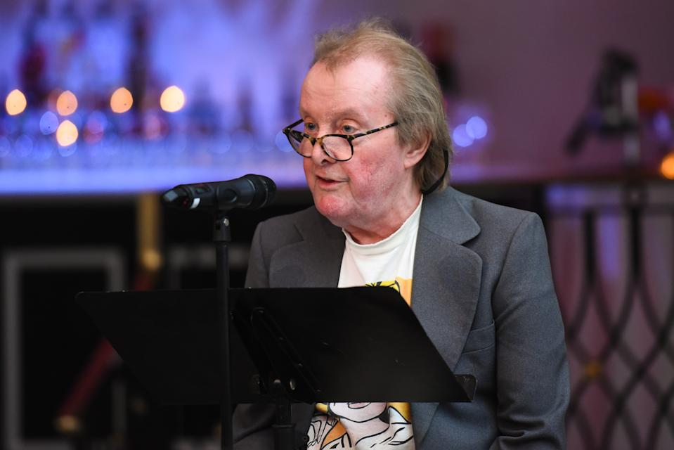 Tony Hendra speaks at Lapham's Quarterly, Decades Ball, 2019 at 583 Park Avenue on March 25, 2019 in New York City. (Photo by Jared Siskin/Patrick McMullan via Getty Images)