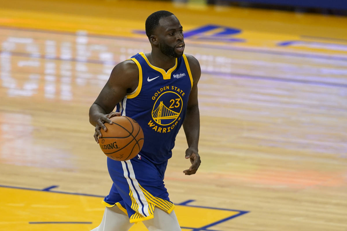 Draymond Green won't try to push Andrew Wiggins to get COVID-19 vaccine: 'You do what you feel'