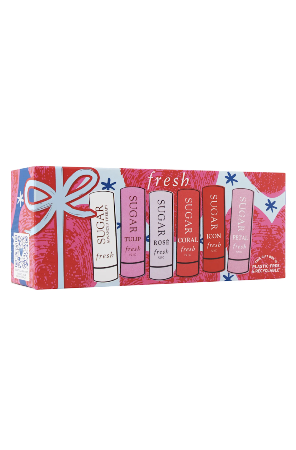 """<h2>Fresh Sugar Hydrating Lip Minis Set</h2><br>This chic set offers a <a href=""""https://www.refinery29.com/en-us/tinted-lip-balms"""" rel=""""nofollow noopener"""" target=""""_blank"""" data-ylk=""""slk:tinted lip balm"""" class=""""link rapid-noclick-resp"""">tinted lip balm</a> (<a href=""""https://www.refinery29.com/en-us/lip-balms-spf-protection"""" rel=""""nofollow noopener"""" target=""""_blank"""" data-ylk=""""slk:with SPF"""" class=""""link rapid-noclick-resp"""">with SPF</a>!) for every mood. <br><br><strong>Fresh</strong> Sugar Hydrating Lip Minis Set, $, available at <a href=""""https://go.skimresources.com/?id=30283X879131&url=https%3A%2F%2Fwww.nordstrom.com%2Fs%2Ffresh-sugar-hydrating-lip-minis-set-nordstrom-exclusive-usd-75-value%2F6481909"""" rel=""""nofollow noopener"""" target=""""_blank"""" data-ylk=""""slk:Nordstrom"""" class=""""link rapid-noclick-resp"""">Nordstrom</a>"""