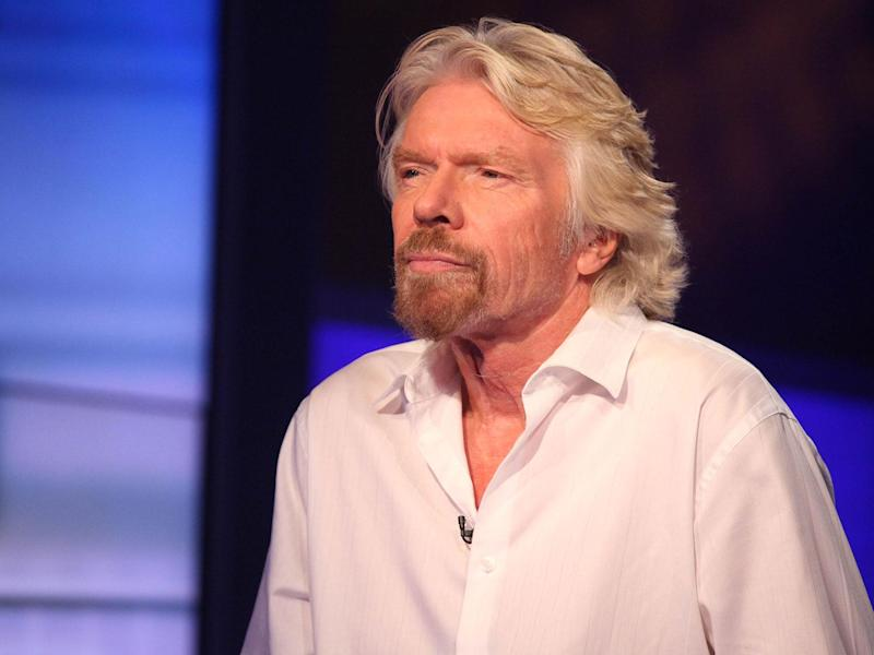 Richard Branson, who dropped out of school at 16, says his dyslexia was 'treated as a handicap: my teachers thought I was lazy and dumb, and I couldn't keep up or fit in': Rob Kim/Getty Images