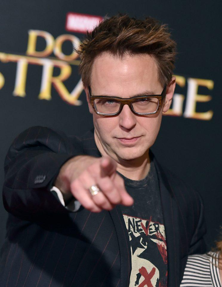 James Gunn at 'Doctor Strange' premiere