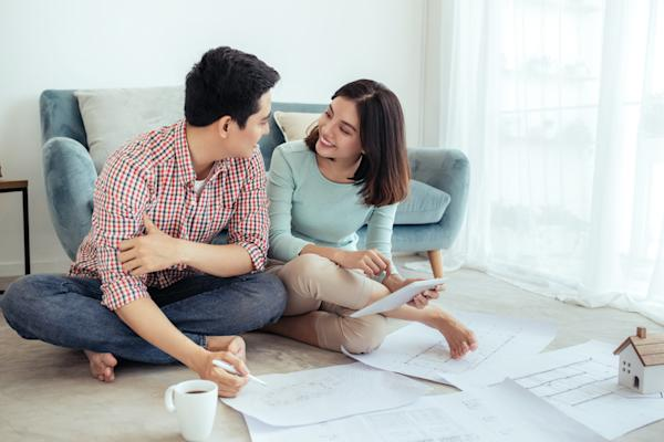 How much upfront cash do you need to buy a singapore condo for What kind of loan do you need to buy land
