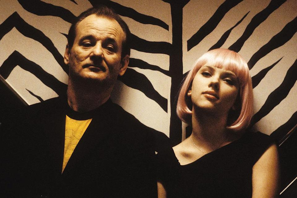Bill Murray was 53 and Scarlett Johansson was 19 in 'Lost in Translation' Age gap: 34 years