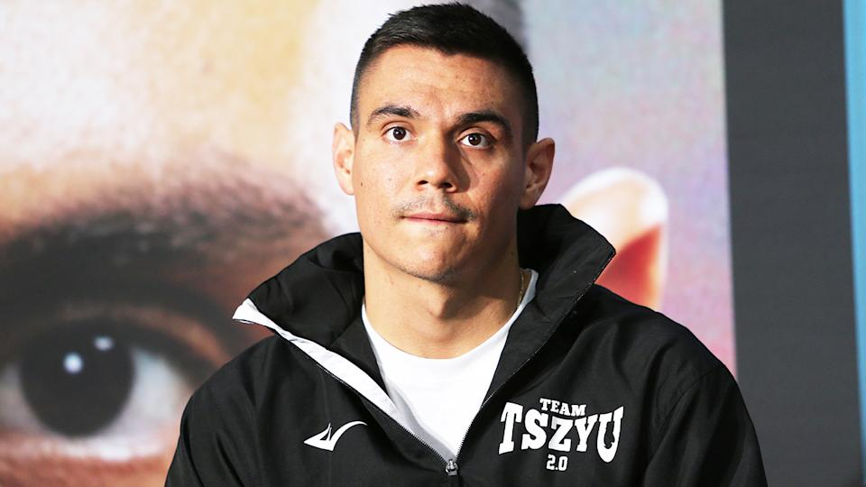 Tim Tszyu (pictured) during a media conference.