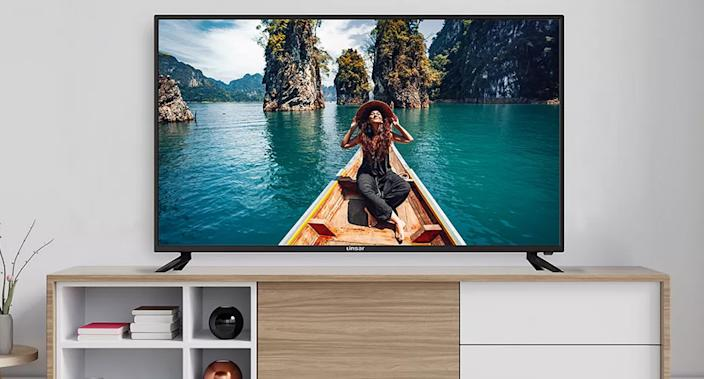 This is a great affordable 50-inch TV option and here's why. (Linsar)