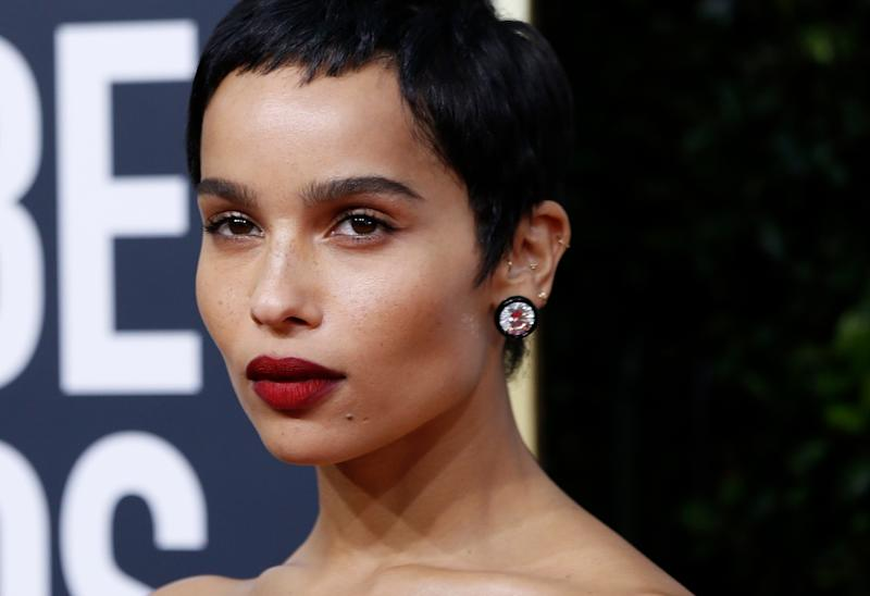 77th Golden Globe Awards - Arrivals - Beverly Hills, California, U.S., January 5, 2020 - Zoe Kravitz. REUTERS/Mario Anzuoni