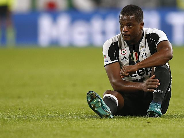 Patrice Evra found his time at Manchester United much easier than at Juventus: AFP/Getty