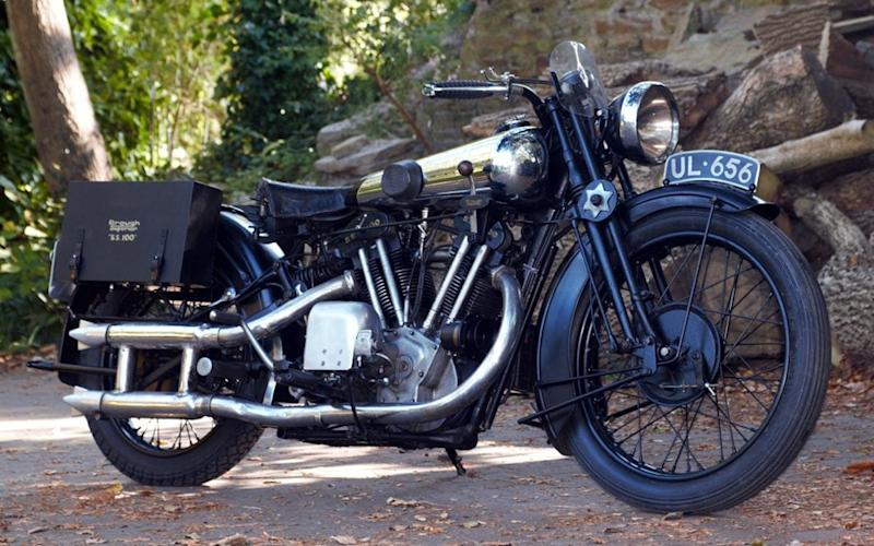 Lawrence's 1929 Brough Superior SS 100 has received a sympathetic, 18-month restoration after many years in storage - mikeslewis@btinternet.com