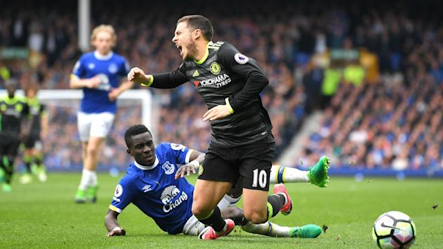 "Idrissa Gueye ""controlled"" Eden Hazard in a brilliant man-marking display in Everton's defeat to Chelsea, according to Ronald Koeman."