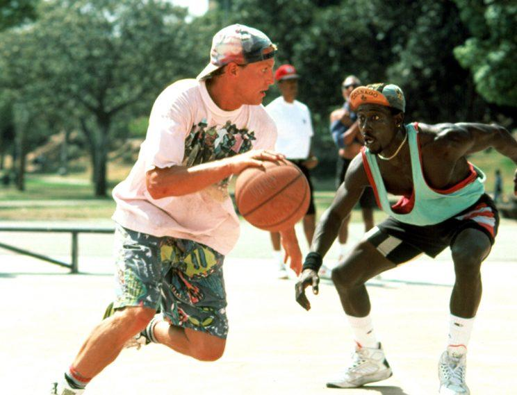 Woody Harrelson and Wesley Snipes in 'White Men Can't Jump.' (Photo: Everett)