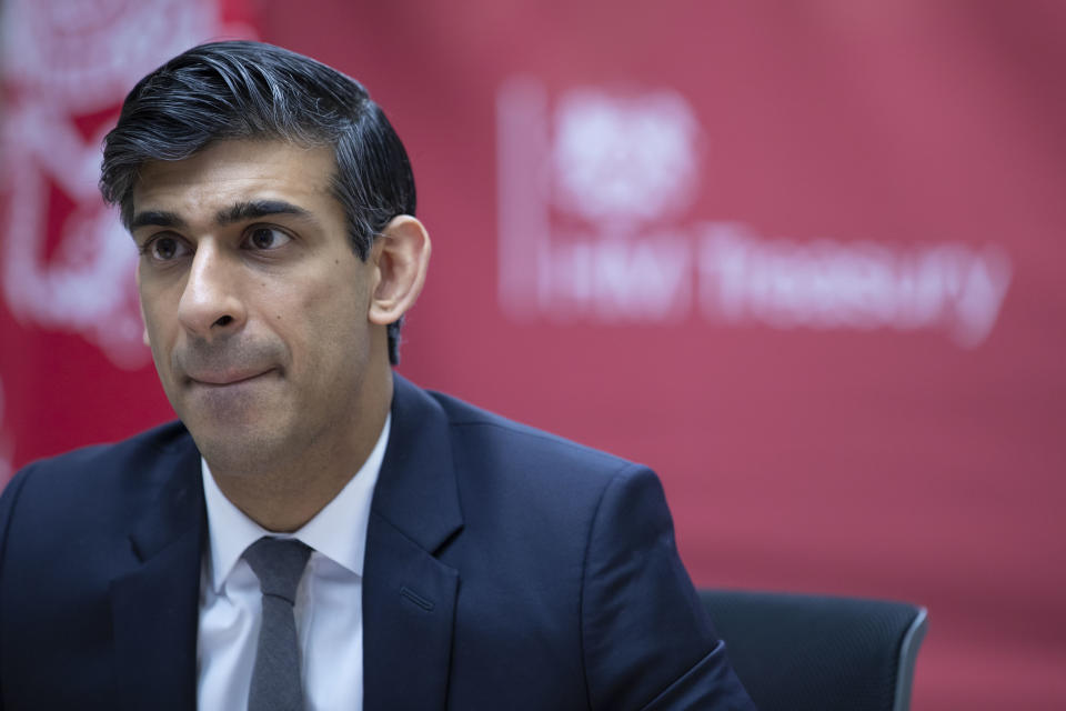 UK chancellor Rishi Sunak will deliver his second budget on Wednesday 3 March. Photo: Yahoo Finance UK