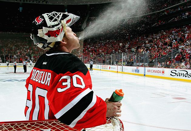 new style 08d73 9c49c Martin Brodeur stays with NJ Devils after leveraging 2-year deal