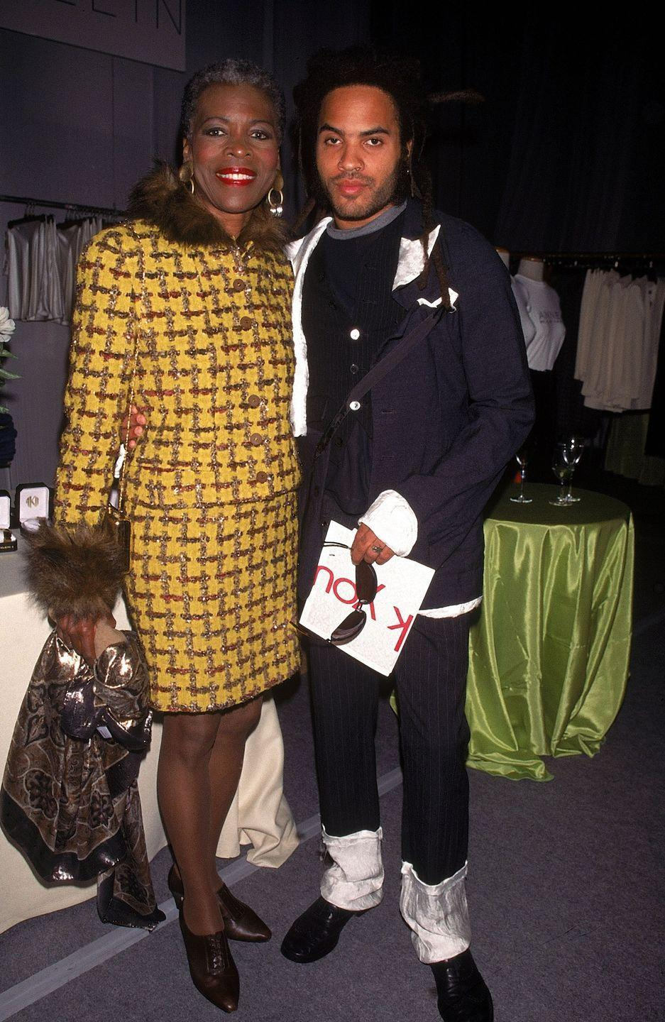 """<p><strong>Famous parent(s)</strong>: actress Roxie Roker and filmmaker Sy Kravitz<br><strong>What it was like</strong>: """"My mother was extremely warm, a really incredibly loving woman, really was extraordinary in the sense that she put others first,"""" he's <a href=""""http://www.huffingtonpost.com/2013/06/04/lenny-kravitz-father_n_3381107.html"""" rel=""""nofollow noopener"""" target=""""_blank"""" data-ylk=""""slk:said"""" class=""""link rapid-noclick-resp"""">said</a>. """"My father had a lot of love and sensitivity in him, but he was really hardcore. Super-heavy disciplinarian. He wasn't the kind of man to talk a lot ... I was afraid of him as a child.""""</p>"""