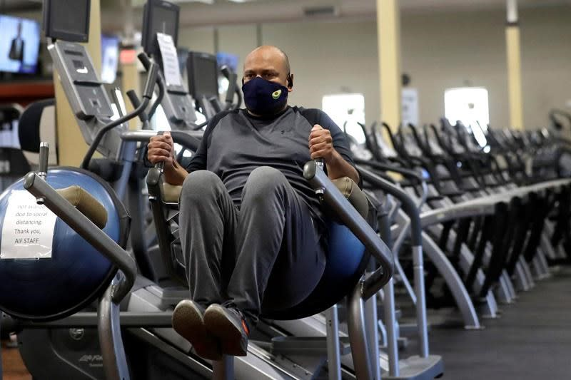 Fitness buffs face new routines as gyms work to rebuild client confidence