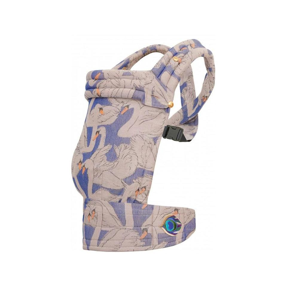 """This stylish baby carrier is on so many <a href=""""https://www.glamour.com/gallery/best-pregnancy-gifts?mbid=synd_yahoo_rss"""" rel=""""nofollow noopener"""" target=""""_blank"""" data-ylk=""""slk:mama-to-be wish lists"""" class=""""link rapid-noclick-resp"""">mama-to-be wish lists</a>. $350, Antipoppe. <a href=""""https://shop.artipoppe.com/zeitgeist-baby-carrier/1056-zeitgeist-baby-monogamy"""" rel=""""nofollow noopener"""" target=""""_blank"""" data-ylk=""""slk:Get it now!"""" class=""""link rapid-noclick-resp"""">Get it now!</a>"""