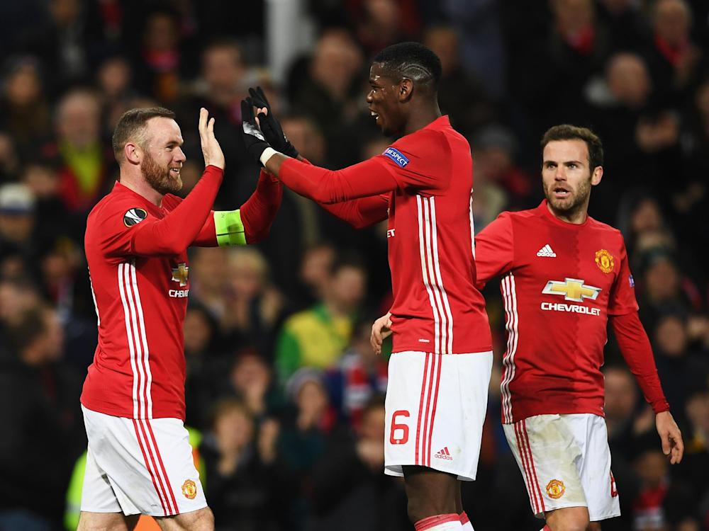 United will play the Belgian league leaders in the next round: Getty