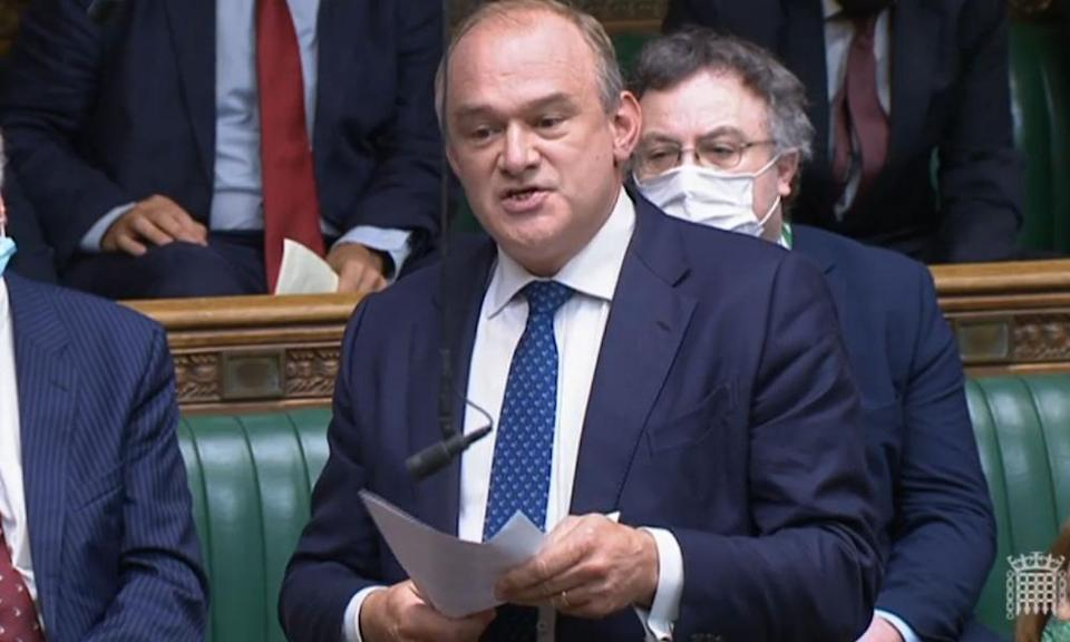 <span>Photograph: House of Commons/PA</span>
