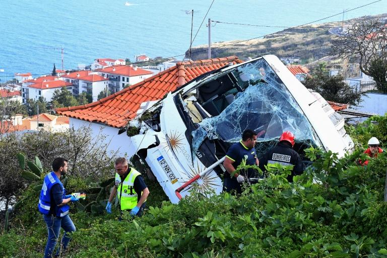 The bus was only five years old and has been recently inspected, officials said