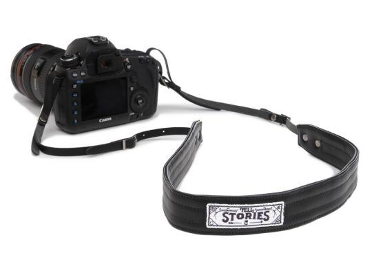 "<p>Attached to every great traveler is a camera — waiting and ready to capture memories of an unforgettable trip. This <a href=""http://www.onabags.com/store/small-goods/sahel.html?color=black#black"">leather camera strap</a> is stylish, padded with soft neoprene, and can be worn crossbody. Additionally, part of the proceeds from each sale go to support <a href=""https://donate.charitywater.org/donate/wayt"">Charity: Water</a> — an organization dedicated to bringing clean and safe drinking water to millions around the world. Now, every time you snap a photo, you'll know that a little good has been done. <i>(Photo: ONA)</i></p><p>Cost: $109</p>"