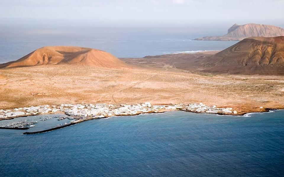 'Isla Graciosa is almost all beach, so it's easy to keep social distancing' - BRENDAN BAEZA STANICIC
