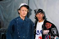 <p>Bill Murray and Dan Cortese at The 1993 MTV Super Bowl Show at The Rose Bowl on January 31st, 1993 in Anaheim, CA.</p>