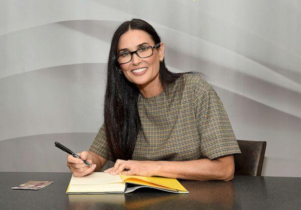 PHOTO: Actress Demi Moore attends the signing of her memoir 'Inside Out' at Barnes & Noble Union Square on Sept. 24, 2019 in New York City. (Jamie Mccarthy/Getty Images)
