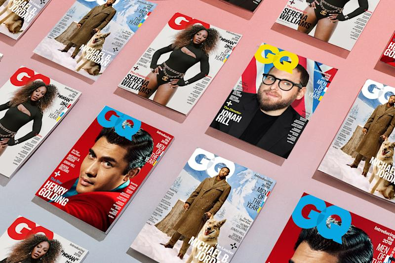 These Are GQ's 2018 Men of the Year Covers