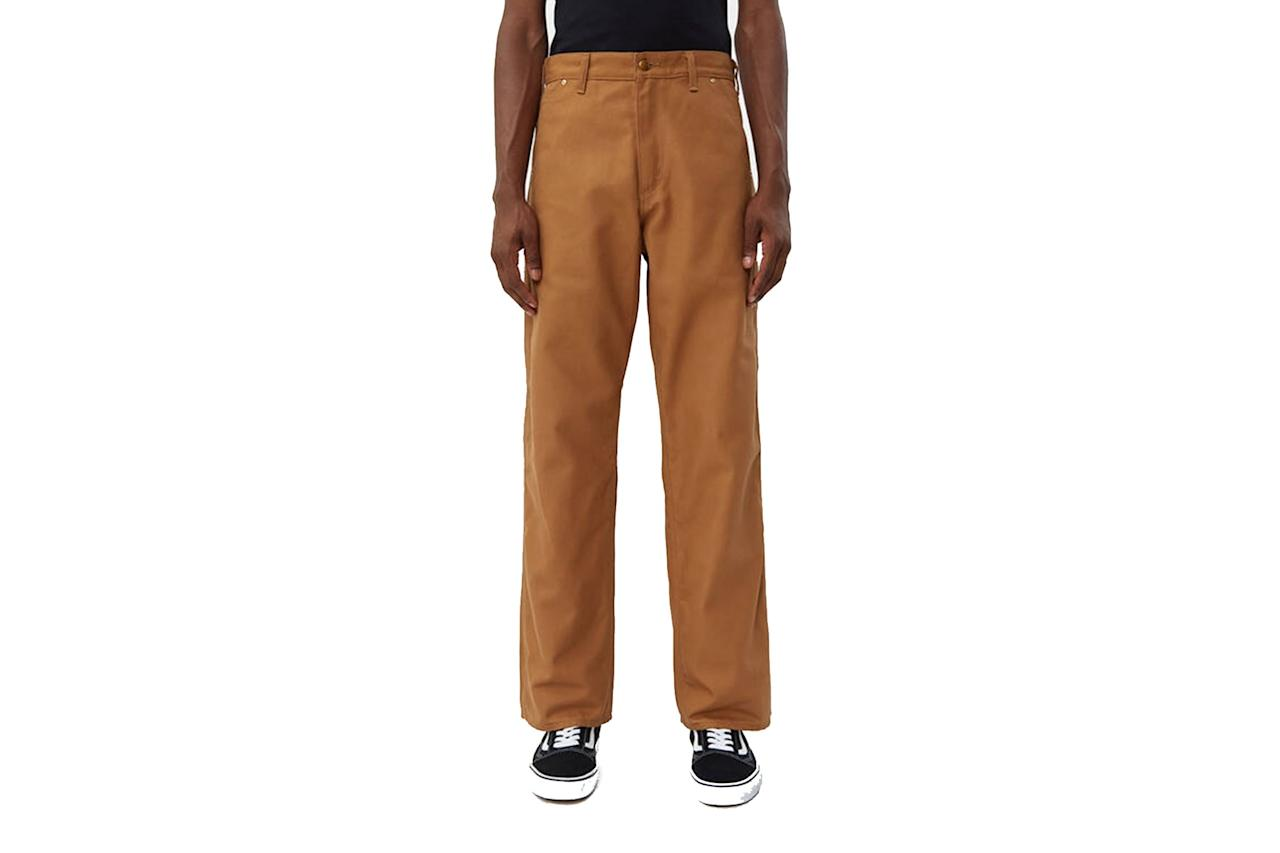 """$225, Need Supply. <a href=""""https://needsupply.com/canvas-painter-pant-in-brown/M105312.html?lang=en_US"""">Get it now!</a>"""