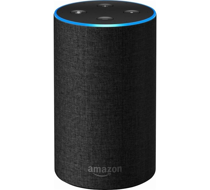 Amazon's Echo 2nd-generation packs all of the power of its predecessor into a smaller, more attractive package. (Image: Amazon)