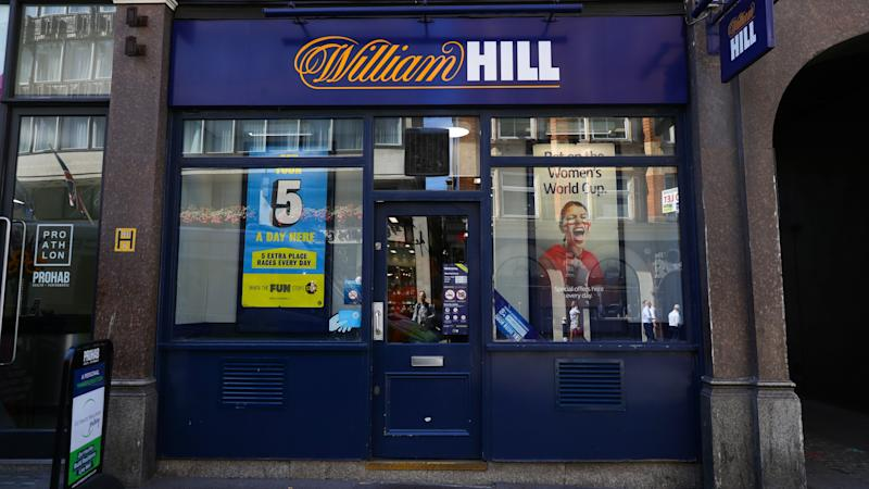 William Hill says it is 'on track' after 700 betting shop closures