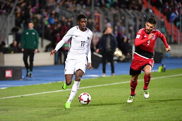Ousmane Dembele France Luxembourg