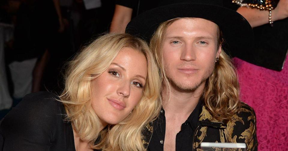 Ellie Goulding admitted that she and ex Dougie Poynter have an 'amazing connection' (Copyright: Richard Young/REX/Shutterstock)