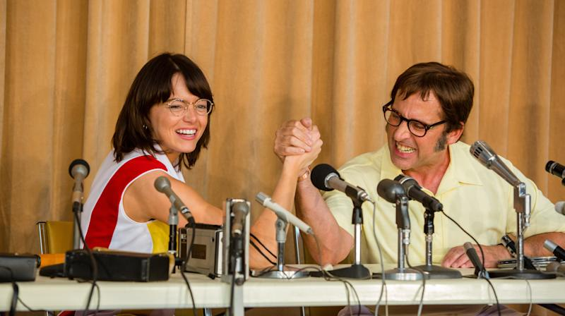 Steve Carell Makes Emma Stone An Offer She Can Refuse In 'Battle Of The Sexes' Clip