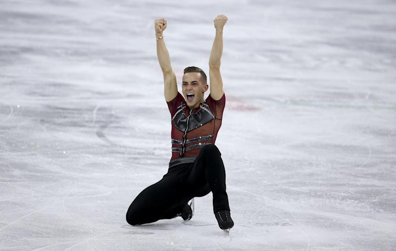 Olympian Adam Rippon Has Celebrity Moms Trying to Set Him Up