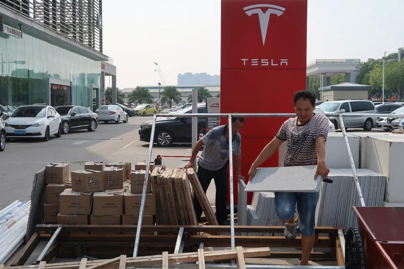 Tesla plans after-sales network expansion in China as Shanghai factory spins up