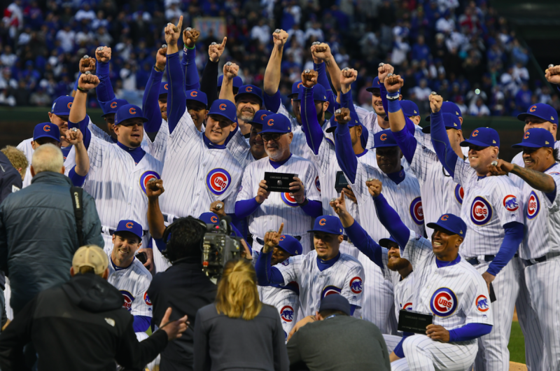 The Cubs don't want their rings hitting the open market. (AP)