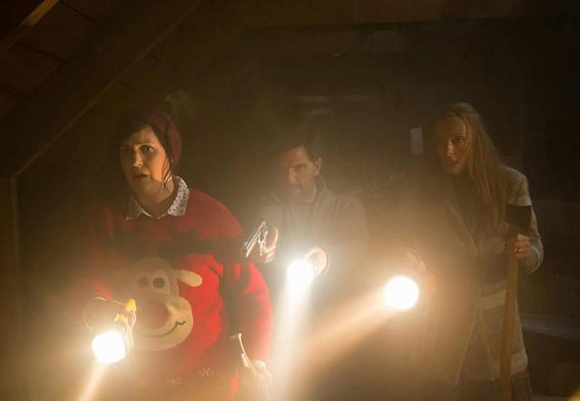 <p>In the grand tradition of <em>Silent Night, Deadly Night</em>, <em>Black Christmas</em>, and <em>Gremlins</em>, <em>Krampus</em> delivers some Christmas-based bloodletting to break up the typical holiday treacle. Based on the Euro folk legend of a goatlike demon that feasts on the naughty list, <em>Krampus</em> mixes jump scares and belly laughs to delightful effect. Think of it as a different kind of holly-jolly family flick. —<em>M.E. </em>(Available on Amazon, Google Play, iTunes, Vudu, YouTube)<br><em>(Photo: Steve Unwin/Universal Pictures/courtesy Everett Collection)</em> </p>
