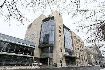 The John Sopinka Courthouse where Karim Baratov appeared in front of a judge is pictured  in Hamilton