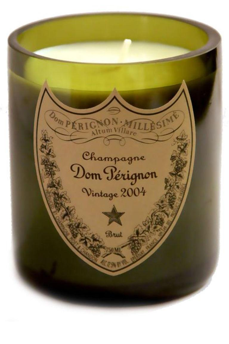 """<p>This vanilla-scented candle is upcycled from an old bottle of Dom Perignon. Recycling never looked (and smelled) so nice.</p><p><strong>CC </strong>DP Candle, £<span>34, <a rel=""""nofollow noopener"""" href=""""http://www.champagnecharlielondon.com/product/dom-perignon-candle"""" target=""""_blank"""" data-ylk=""""slk:champagnecharlielondon.com"""" class=""""link rapid-noclick-resp"""">champagnecharlielondon.com</a>.</span></p>"""