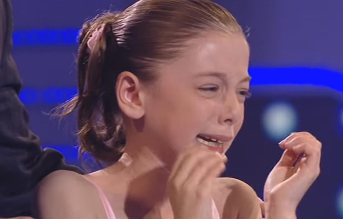<p>On the one hand, cute kids with talent are ratings gold. But then again, on the other, they're in no way equipped to deal with the massive pressure of a prime-time audience, Cowell and Holden, you MONSTERS. 10-year-old Hollie Steel struggled with the words of 'Edelweiss' in the 2009 semi-final and burst into tears, pleading to be able to start again. Happy now?</p>