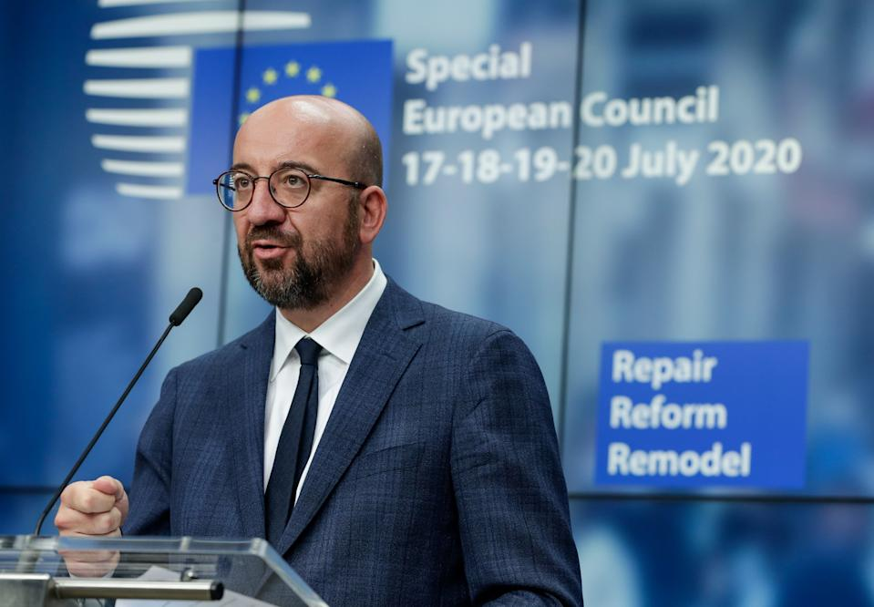 Charles Michel, presidente del Consejo Europeo. (Photo by STEPHANIE LECOCQ/POOL/AFP via Getty Images)