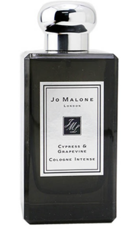 PHOTO: Zalora. JO MALONE Cypress & Grapevine Cologne Intense Spray