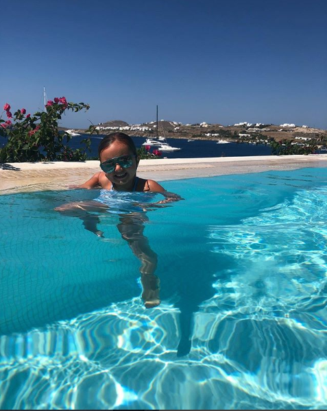 <p>Why can't our holiday snaps look this good?<br />Source: Instagram/ Tamara Ecclestone </p>