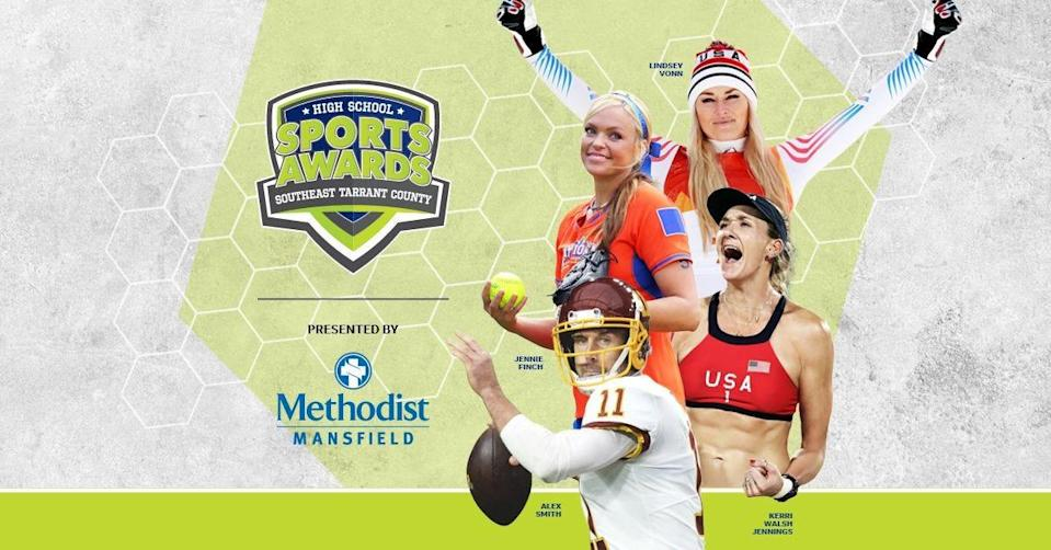 Lindsey Vonn, Alex Smith, Kerri Walsh, and The Bachelor's Matt James and Tyler Cameron, will be among a highly decorated group of presenters and guests for the SE Tarrant Co High School Sports Awards