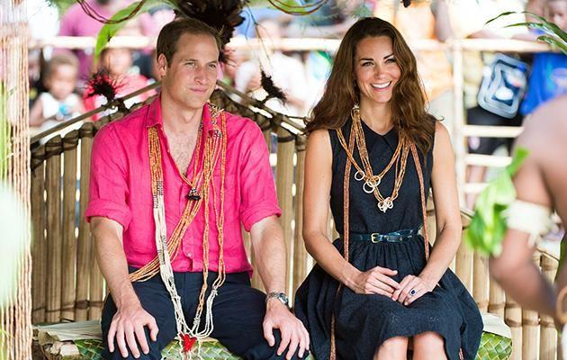 Kate and William (pictured above on the Jubilee Tour in 2012) were in a secluded villa when the pictures were taken. Photo: Getty.