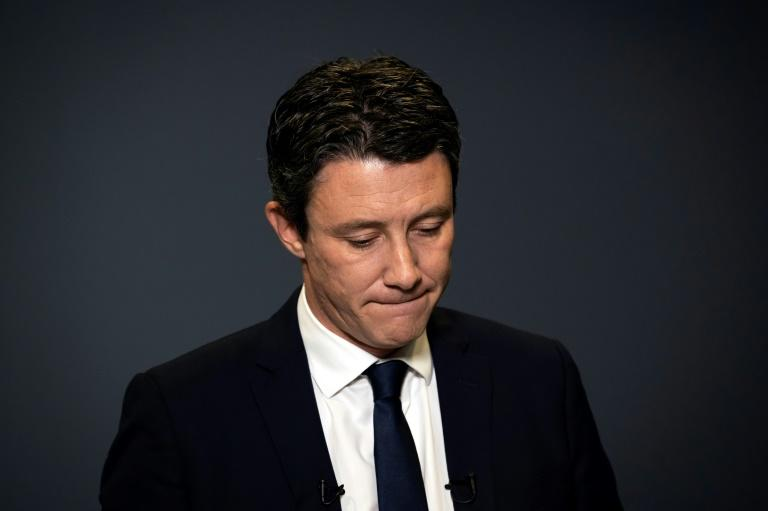 President Emmanuel Macron's centrist party was thrown into turmoil after Benjamin Griveaux withdrew from the Paris mayor race over a sex video (AFP Photo/Lionel BONAVENTURE)