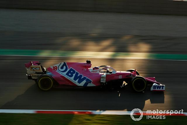 "16º Lance Stroll, Racing Point RP20: 1:17.118 (con neumáticos C3) <span class=""copyright"">Steven Tee / Motorsport Images</span>"